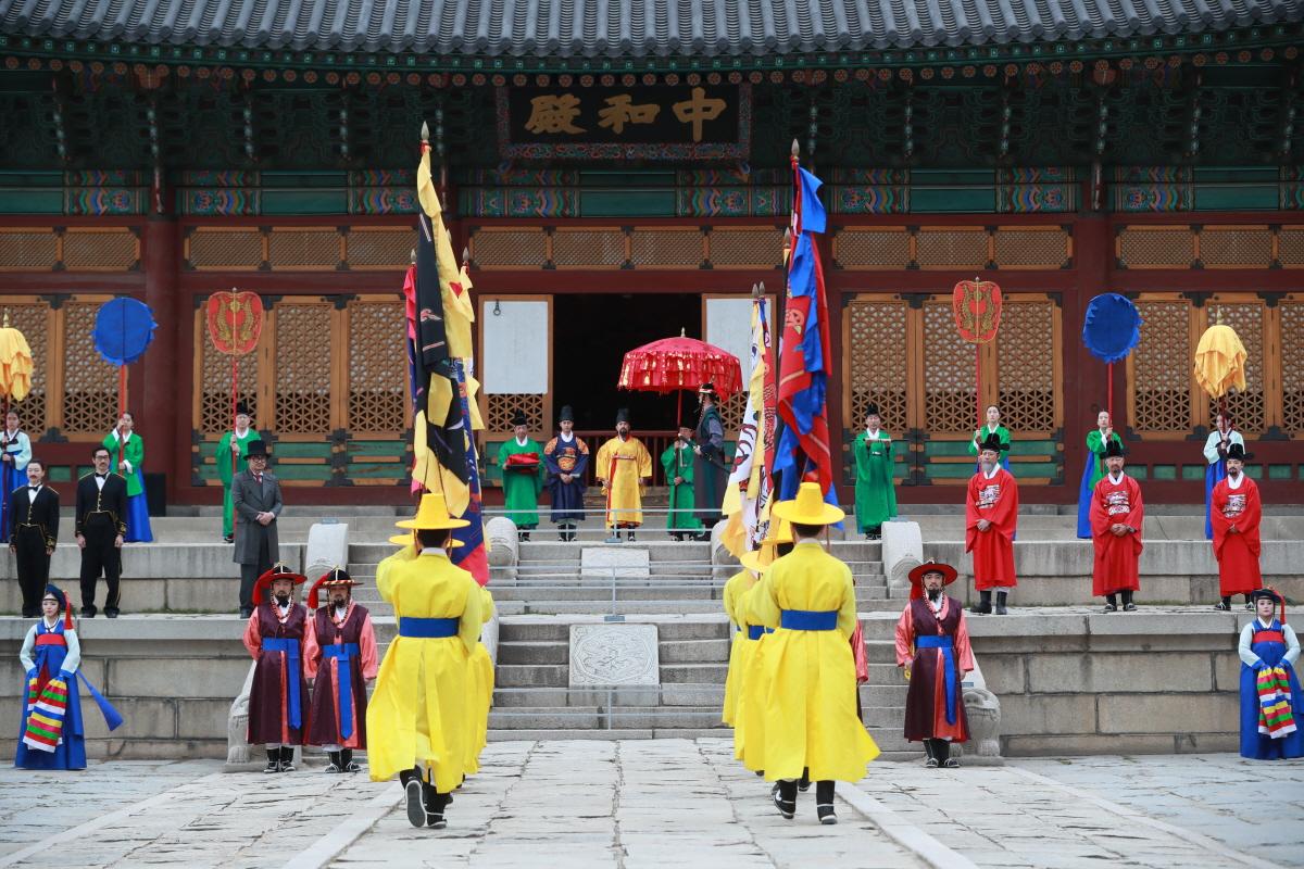2019년 제5회 궁중문화축전 운영대행
